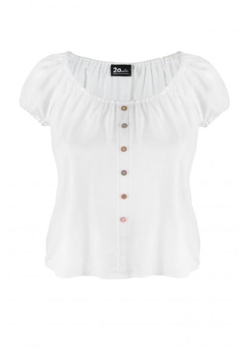 VANESSA WHITE zwiewna bluzka plus size na lato