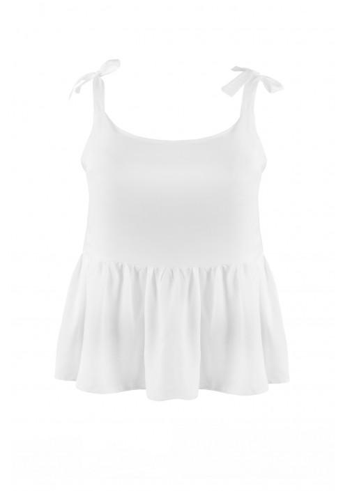 MALI WHITE modna bluzka plus size na lato