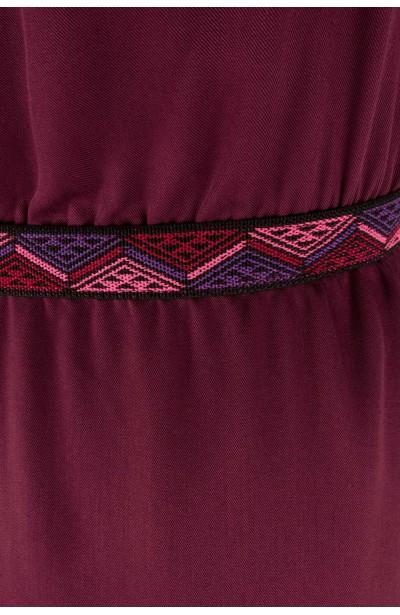 IBIZA BURGUNDY maxi sukienka plus size na lato