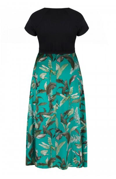 LIVIA BOTANIC maxi sukienka plus size na lato