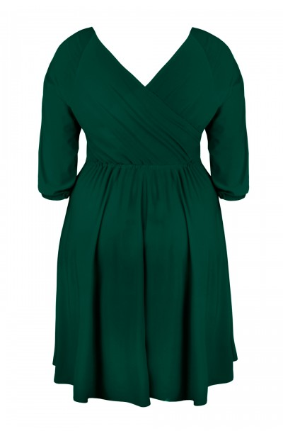 SHEILA GREEN elegancka sukienka plus size
