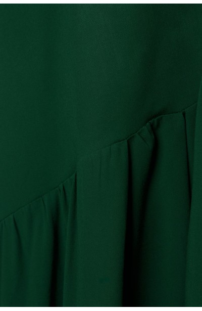 ZORA GREEN rozkloszowana sukienka plus size