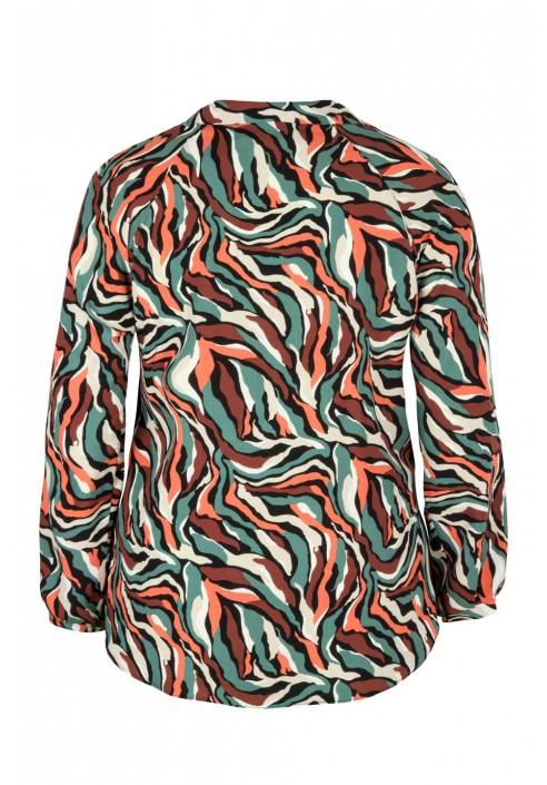 GINNI FUNKY oryginalna koszula plus size z wiązaniem