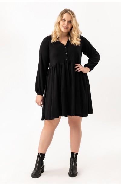 FLORIA BLACK sukienka plus size