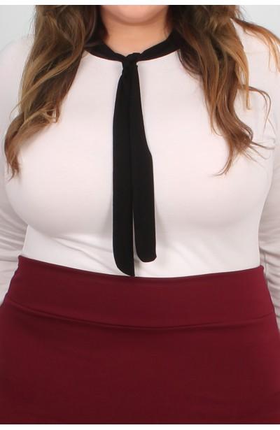 BLAIR Bluzka z krawatką