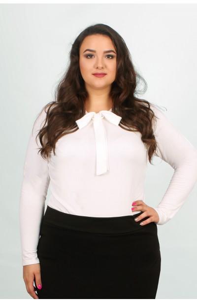 ANA Bluzka z krawatką ecru