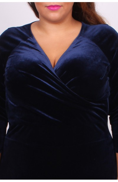 "VELVET MILANO - Sukienka z dekoltem ""V"""