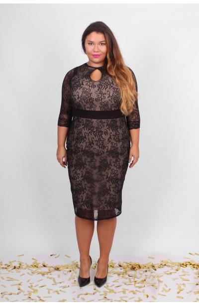 TIANA Ołówkowa sukienka z koronki
