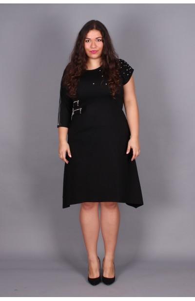 Sukienka z ćwiekami asymetryczna