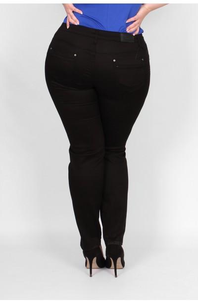 Czarne eleganckie spodnie