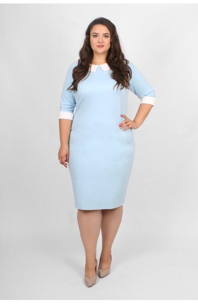 MACY BLUE Sukienka z kołnierzykiem