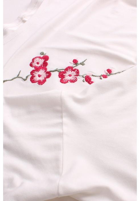 GYPSY - bluzka w wyszytym kwiatem