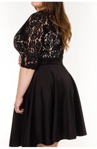 Sukienka BLACK PEARL z koronką