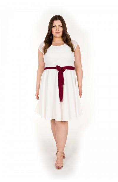 Sukienka  KLARA WHITE - 20inlove.pl