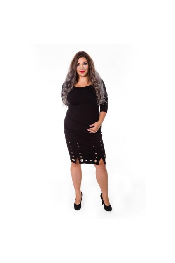 KENDALL BLACK rockowa sukienka