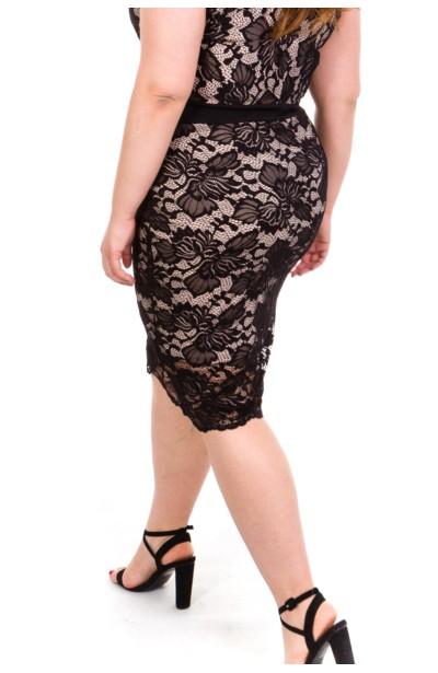 JESSI BLACK koronkowa sukienka
