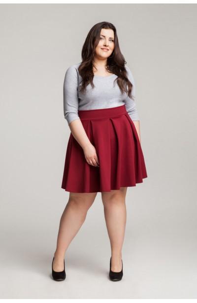 LIV GRAY bawełniana bluzka plus size