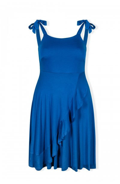 sukienka niebieska CUBA LIBRE BLUE