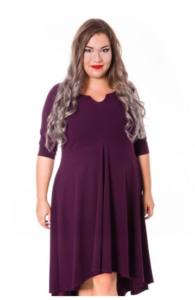 STELLA VIOLET asymetryczna sukienka plus size