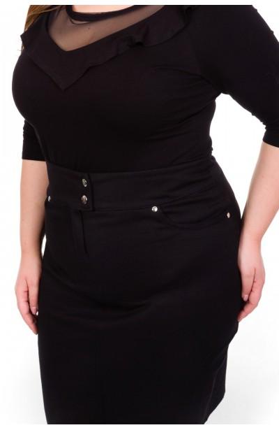 LEXY BLACK jeansowa spódnica