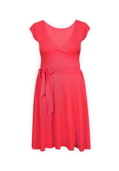 PINA CORAL letnia sukienka z paskiem