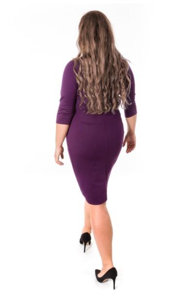 ELSA VIOLET sukienka z gorsetowym wiązaniem