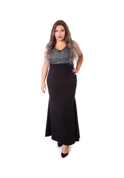 MILA wieczorowa suknia plus size