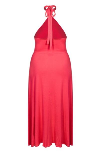 PLAZA CORAL długa sukienka plus size na lato