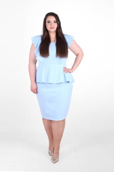 BIRDY BLUE błękitna sukienka
