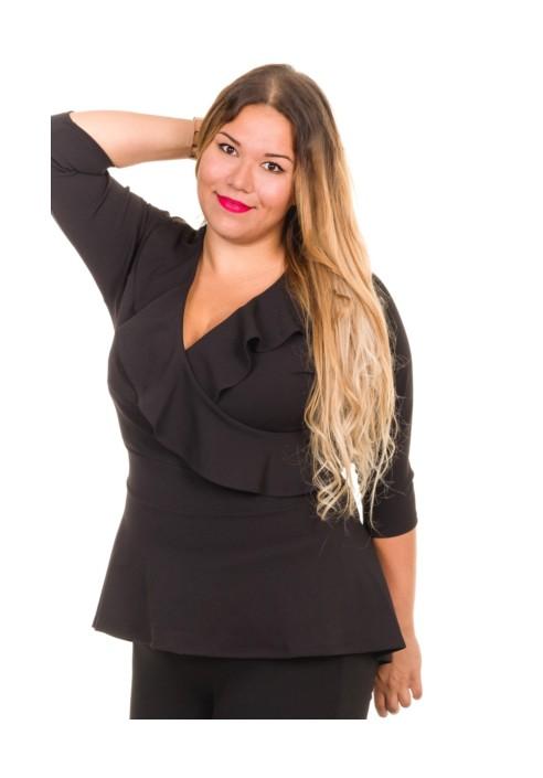 LEO BLACK oryginalna bluzka