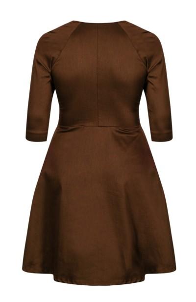 LOTTE NUT sukienka w stylu pin up