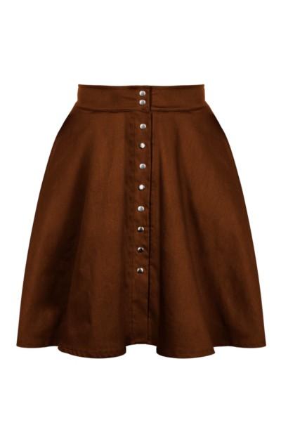 SONJA NUT rozkloszowana spódnica z kieszeniami