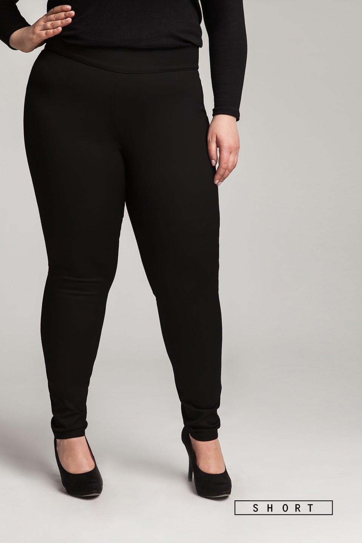 JEGGY BLACK SHORT klasyczne spodnie jeansowe