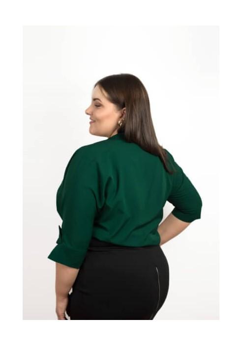 WING EMERALD koszulowe body plus size
