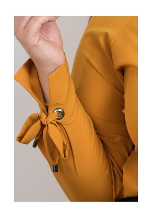 MELODY HONEY elegancka koszula plus size