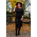 MARGERY BLACK rockowa sukienka plus size