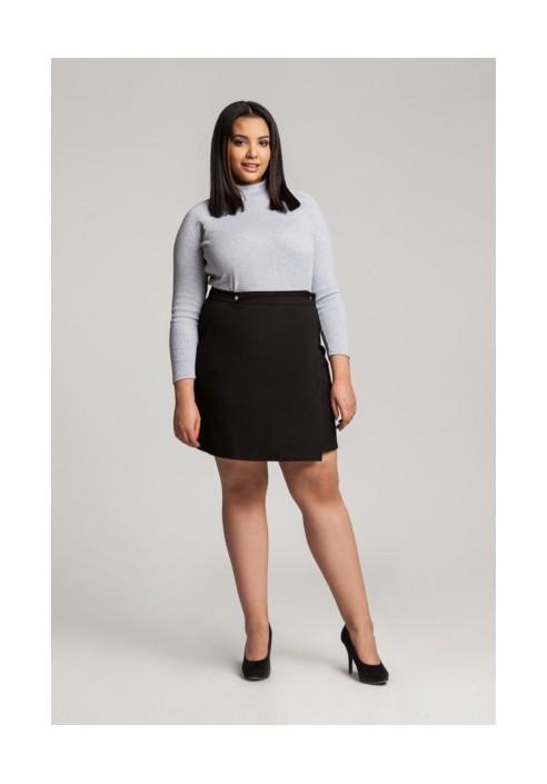 NELLY BLACK minimalistyczna spódnica plus size