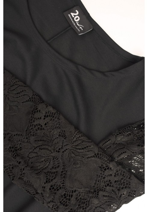 CHARLOTTE BLACK koronkowa mała czarna