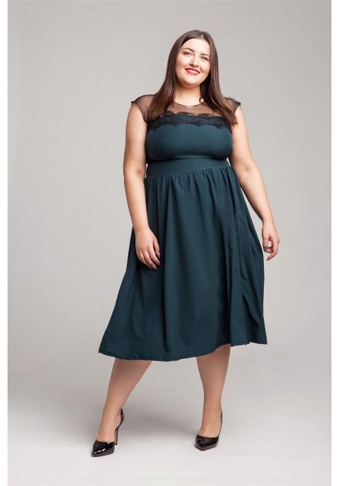 SABRINA GREEN wieczorowa sukienka plus size