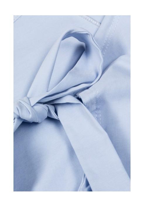 INES BLUE bluzka z baskinką