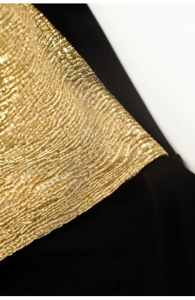 AMBROSE GOLD karnawałowa sukienka plus size