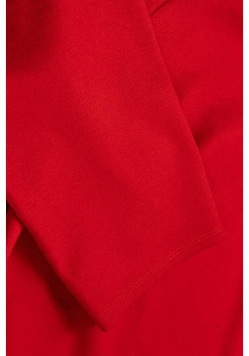 SIMPLE U RED ołówkowa sukienka plus size