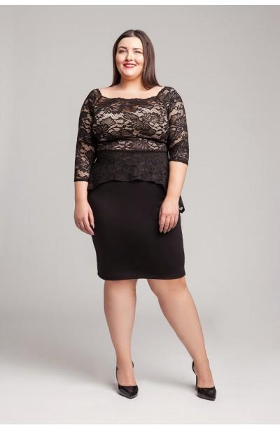 Modne Sukienki Dla Puszystych Plus Size Duże Rozmiary Xl Xxl