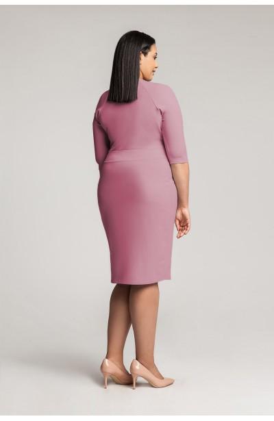MONIQUE HEATHER dopasowana sukienka plus size