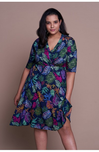 VALERY sukienka plus size z...