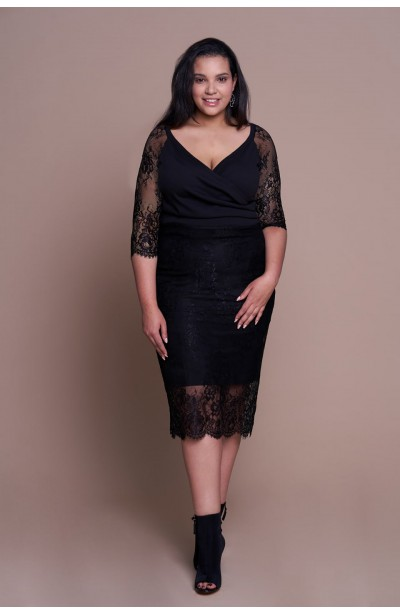 FRANCESS BLACK elegancka...