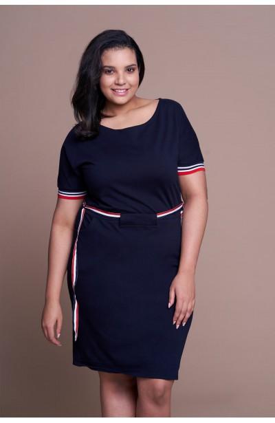 928653d042 Modne sukienki dla puszystych plus size - Duże rozmiary XL