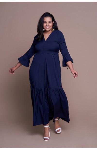 f06b08ed4f Modne sukienki dla puszystych plus size - Duże rozmiary XL