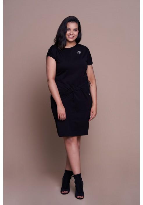 PATI BLACK sportowa sukienka plus size na co dzień
