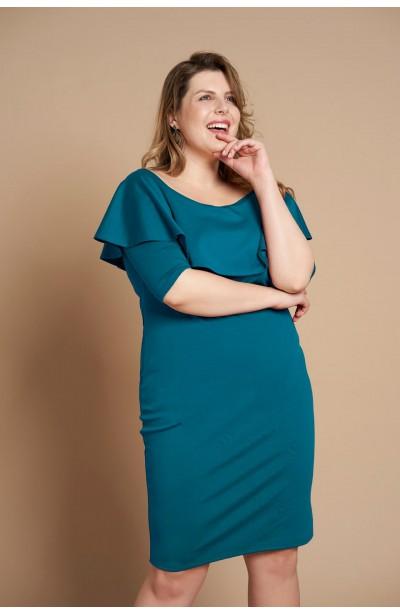8a345538d4 Modne sukienki dla puszystych plus size - Duże rozmiary XL